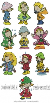 Babies in Rain