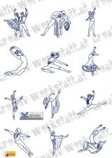 Bluework dancers