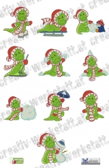Christmas time croco