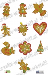 Christmas time gingerbread