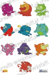 Chubby Monsters