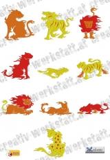 Felines on Fire