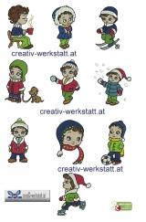 Winter time kid