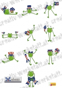 4th of July Froggy