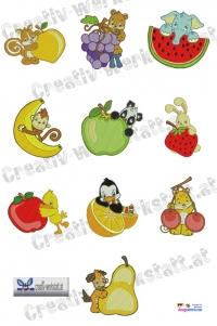Animal fruits - Tiere und Früchte