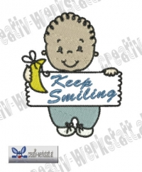 Baby Quote Keep Smiling
