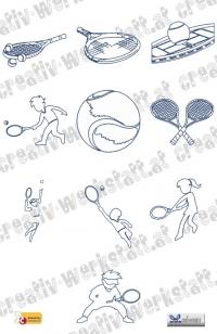 Bluework tennis jef