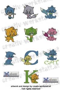 Cute kitties - Knuffige Katzen