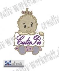 Baby Quote Cutiepie