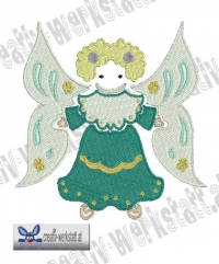 Folk Art Angel 4