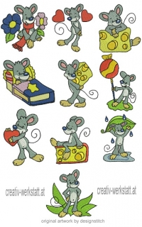Funny Mouse - JEF-Format