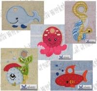 Handtuchösen Fische Set 02