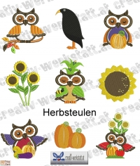 Herbsteulen - autumn owls