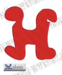 Rounded Alpha H