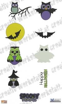 Spooky Hoots - Eulen und Halloween