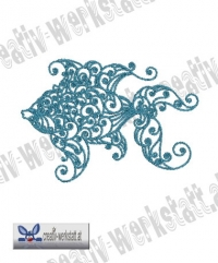 Swirly fish 7