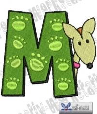 Tierbuchstabe M