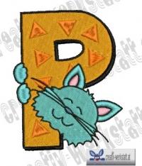 Tierbuchstabe P