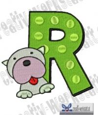 Tierbuchstabe R