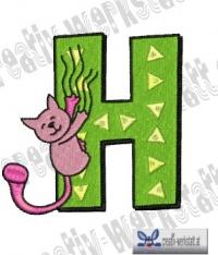 Tierbuchstaben H