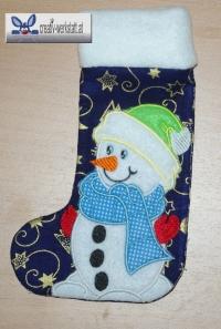 In the hoop Christmas stockings - Weihnachtssocken