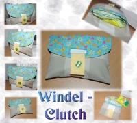 Clutch - Tasche - Windeltasche