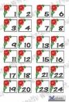 Adventskalender Zahlen Weihnachtsstern