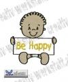 Baby Quote Be Happy