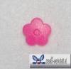 Kam Snaps 10er Set Blumen - neon pink