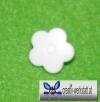 Kam Snaps 10er Set Blumen - weiß