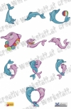 Cute dolphins dst