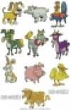 Funny Farm Animals - JEF-Format