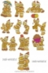 Gingerbread Friends - PES-Format