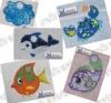 Handtuchösen Fische 01