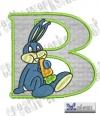 Rabbit - Hase Alphabet B