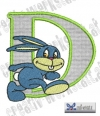 Rabbit - Hase Alphabet D