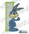 Rabbit - Hase Alphabet I