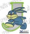 Rabbit - Hase Alphabet J