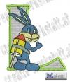 Rabbit - Hase Alphabet L