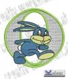 Rabbit - Hase Alphabet O