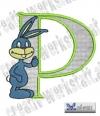 Rabbit - Hase Alphabet P