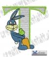 Rabbit - Hase Alphabet T