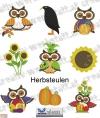 Herbsteulen - autumn owls