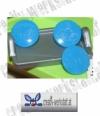Kam Snaps 10er Set Frosch blau - blue frog