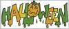 Schriftzug Halloween