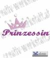 Schriftzug Prinzessin