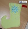 Weihnachtssocke, Elfenschuh und cooler Stiefel