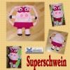 Superschwein - Rucksack oder Beutel