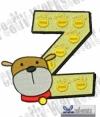 Tierbuchstabe Z