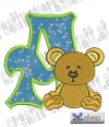 Alphabet Waldtiere - A